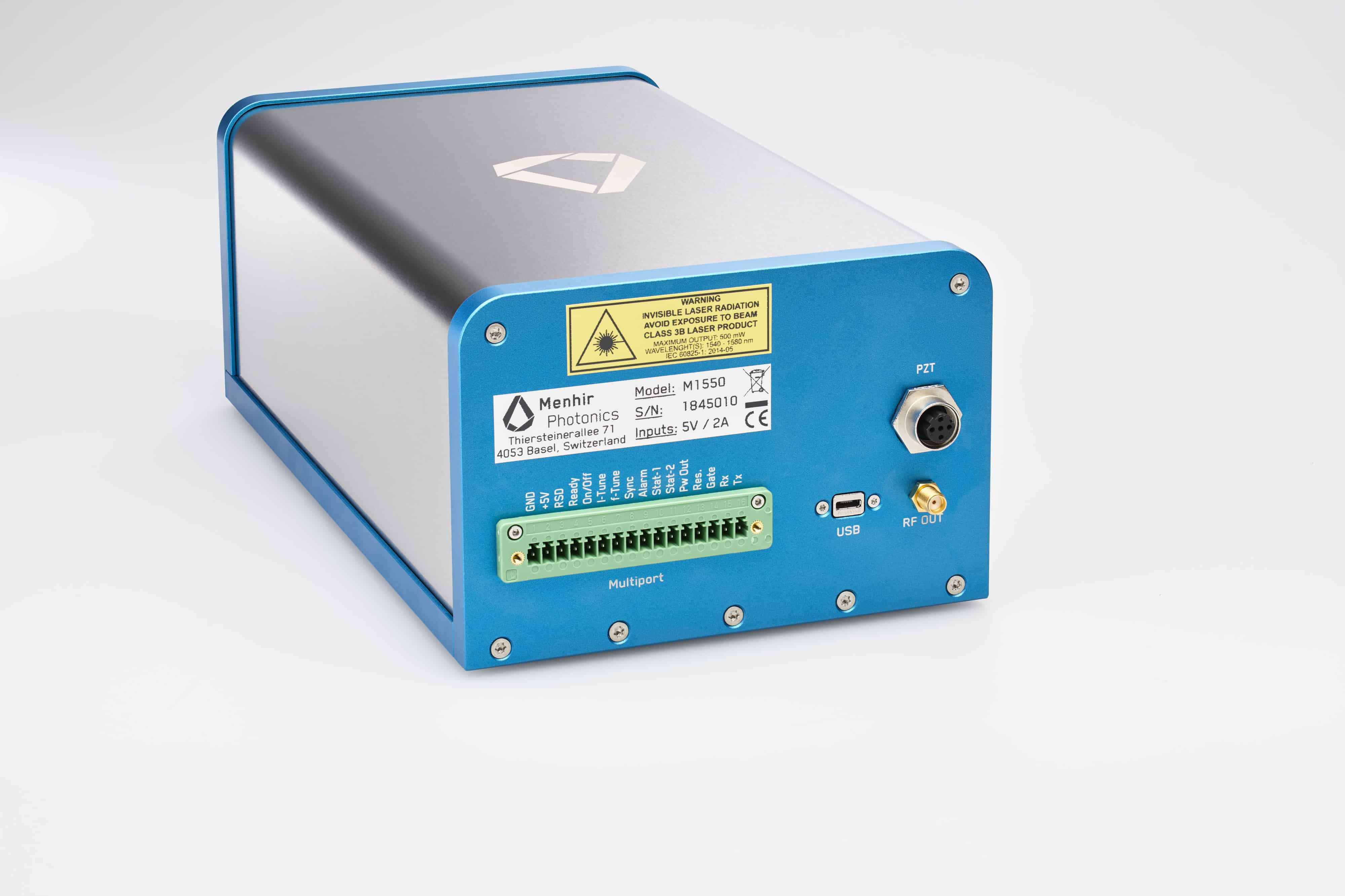 MENHIR-1550-SERIES femtosecond lasers with ultra-low noise